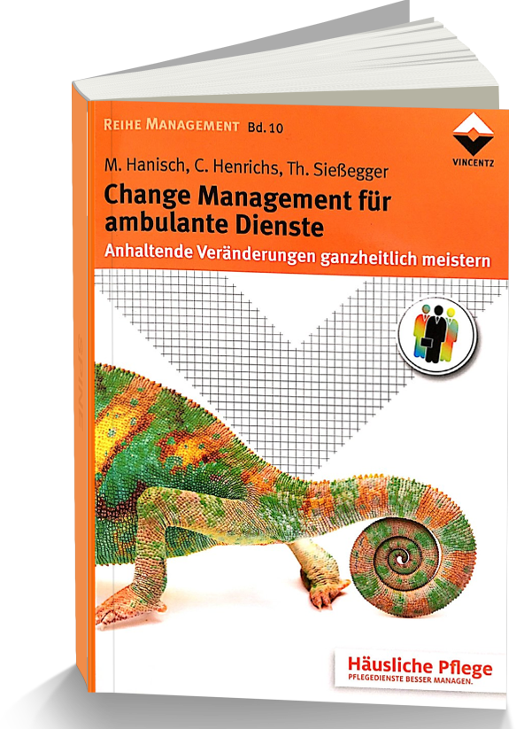 Change Management für ambulante Dienste, Autorin Claudia Henrichs